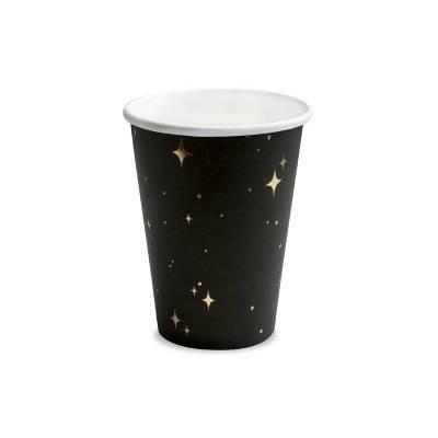 Gobelets noirs 260 ml