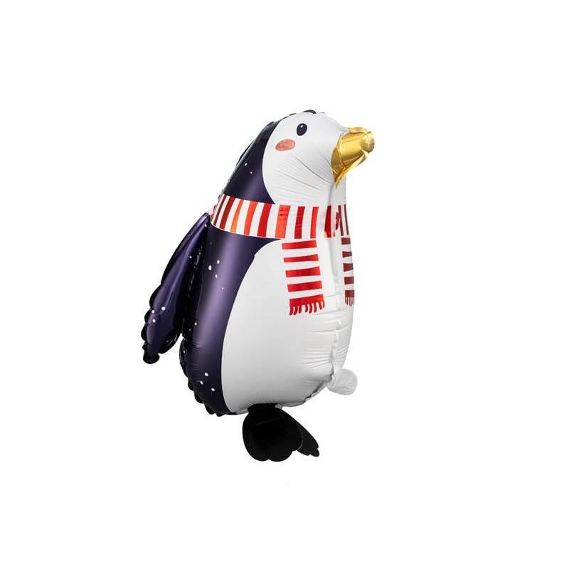 Ballon en feuille Penguin, 29x42cm, mélange