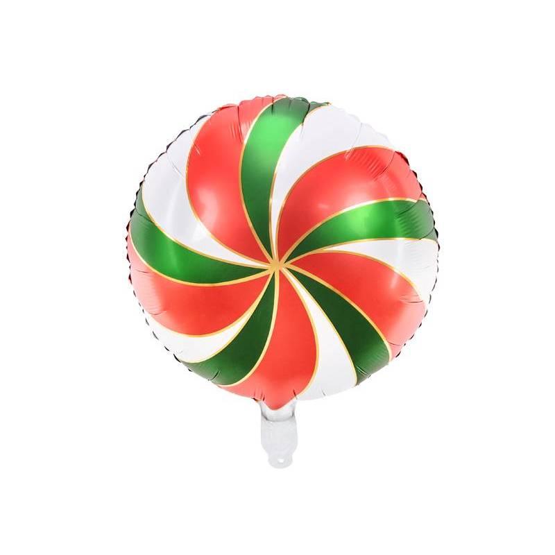 Ballon en feuille Candy, 35cm, mélange