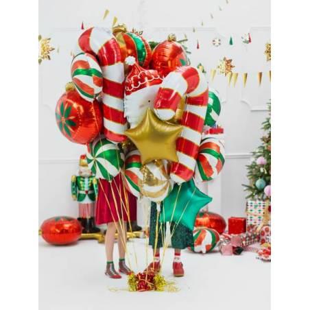 Ballon en feuille Candy, 35cm, vert