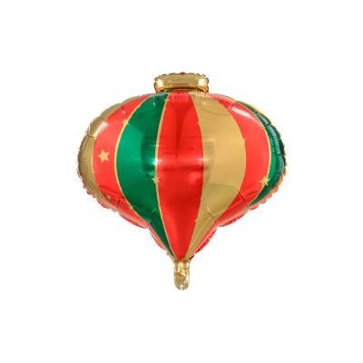 Ballon de Noël en feuille, 51x49cm, mélange