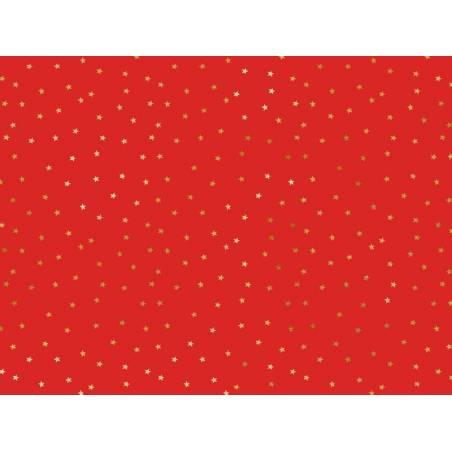 Papier d'emballage - Étoiles, 70x200cm