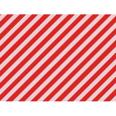 Papier d'emballage - Rayures, 70x200cm