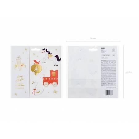 Etiquettes cadeaux Choo Choo mix