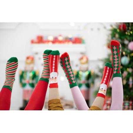 Chaussettes Rayures, mélange, 27-30
