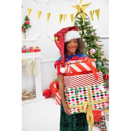 Bonnet de Père Noël, mélange