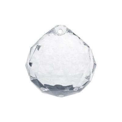 Pendentifs Sphères incolores 32 x 34mm