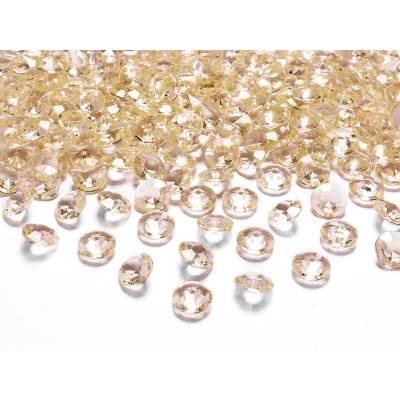 Confetti de diamant or 12mm
