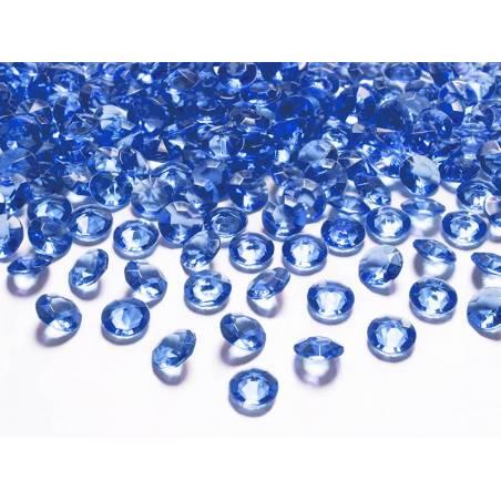 Confettis de diamants bleu marine 12 mm