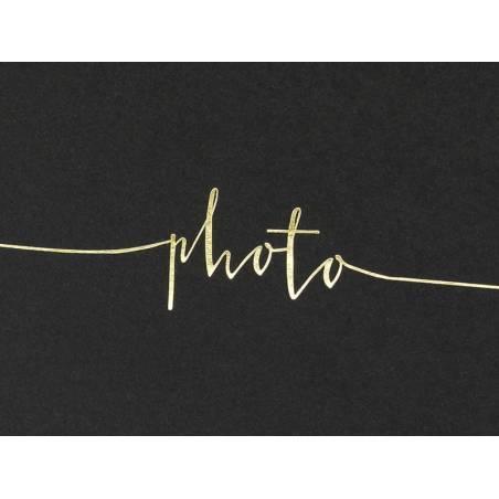 Album photo 24x185cm noir 22 pages