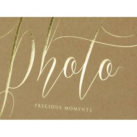 Album photo Moments précieux 20x245cm kraft 22 pages