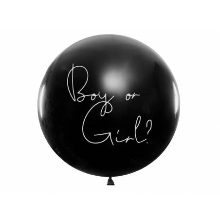 Ballons Gender Reveal - Garçon 1m