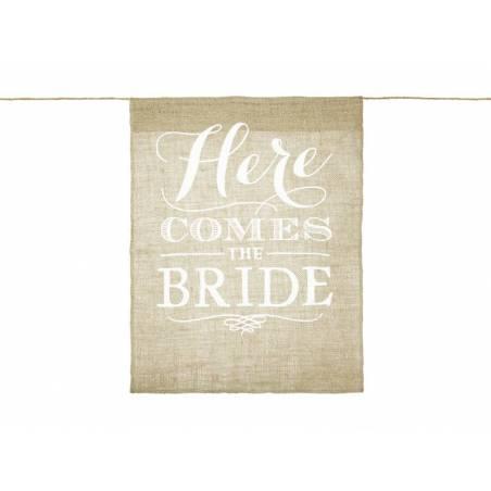 Signe de l'allée - Here comes the bride 41x51cm