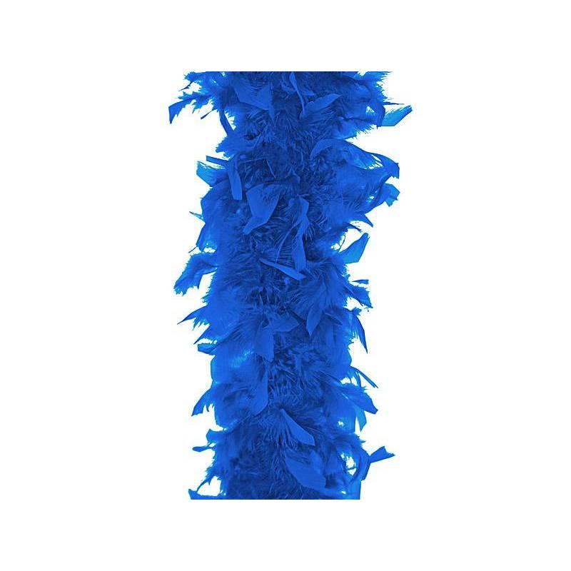 Boa bleu fluo 180cm