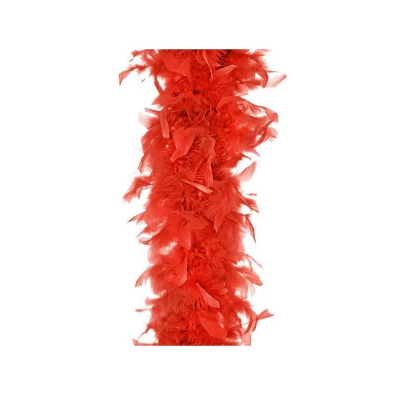 Boa rouge 180cm