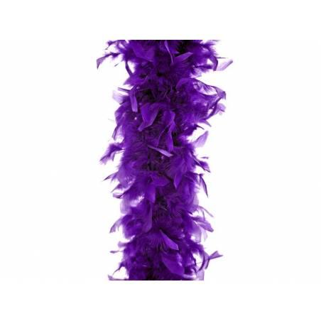 Boa violet 180cm