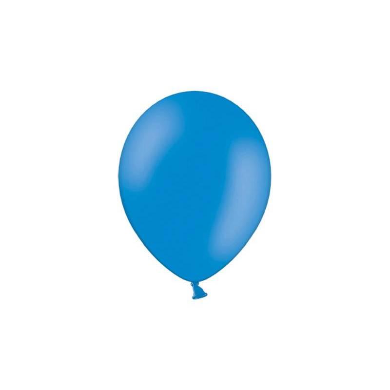 Ballons de fête 25cm bleus