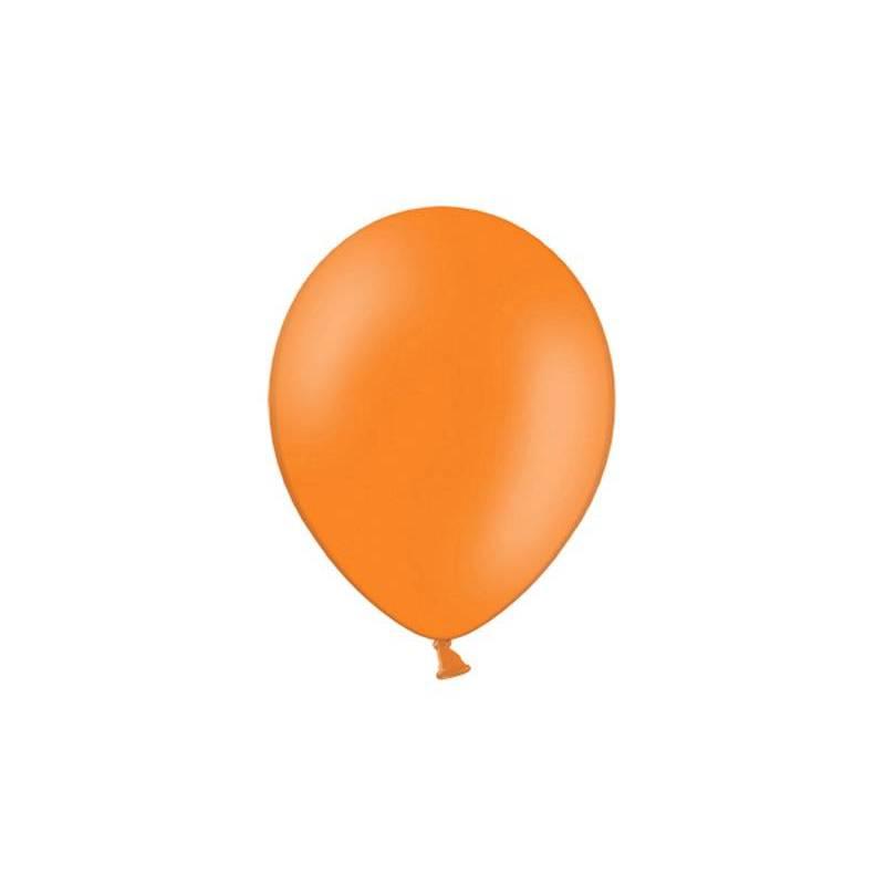 Ballons de fête 25cm orange