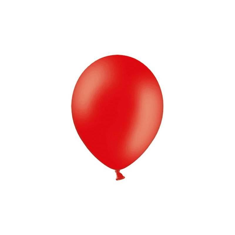 Ballons de fête 25cm rouge