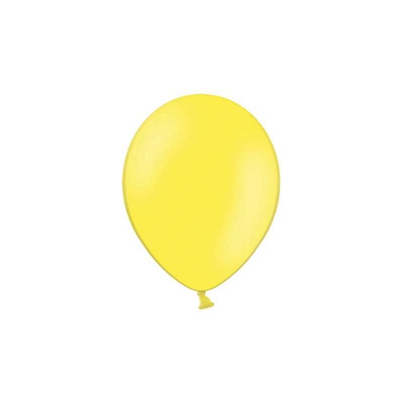 Ballons de fête 25cm jaunes