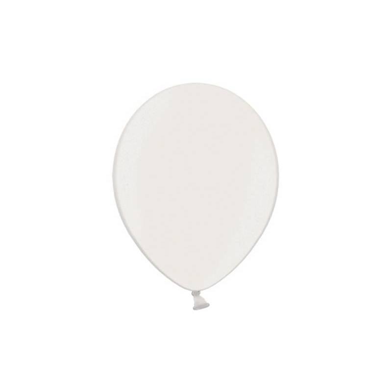 Ballons de fête 29cm blancs