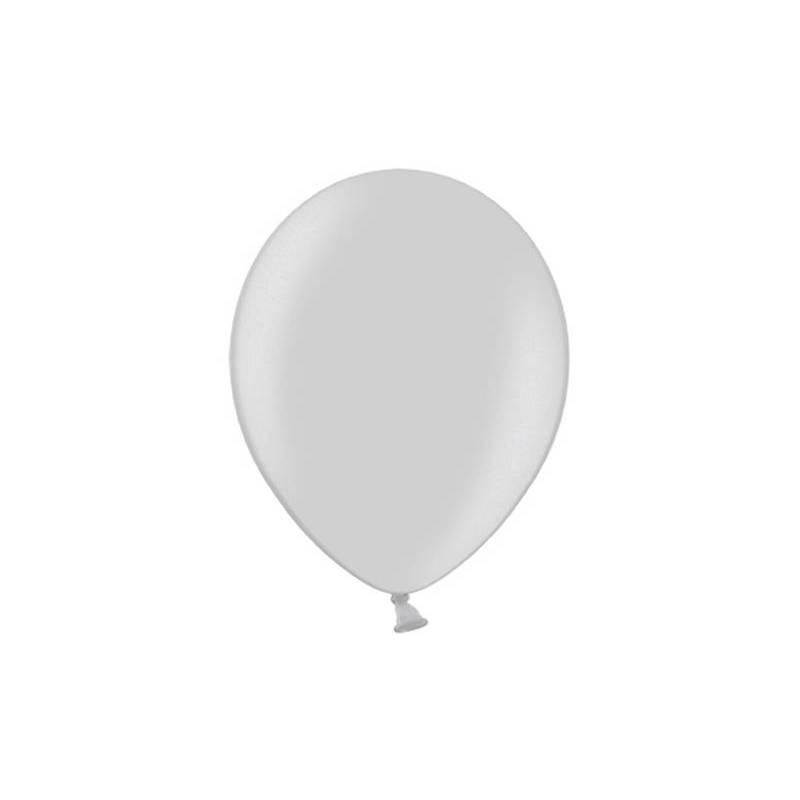 Ballons de fête 29cm argent
