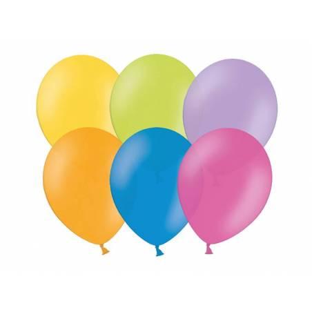 Ballons de fête 23cm mélanger