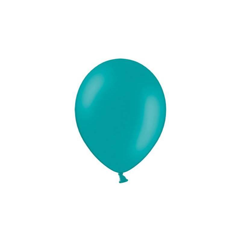 Ballons de fête 23cm d. turquoise