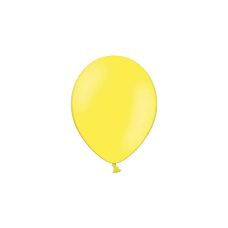 Ballons de fête 23cm jaunes