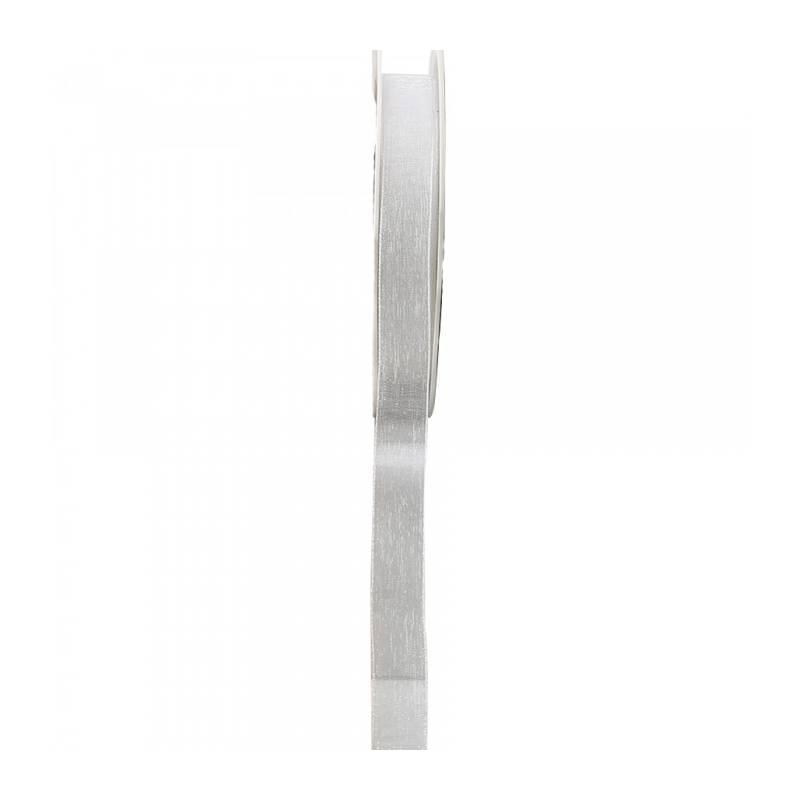 Ruban voile 15 mm - Couleur blanc