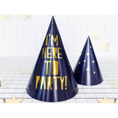 Chapeaux de fête Célébrons - Étoiles mélangez 11cm