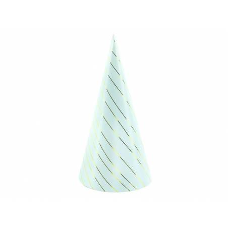 Party Stripes bleu clair 21cm