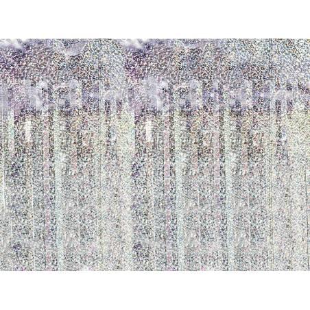 Rideau de fête holographique 90 x 250cm