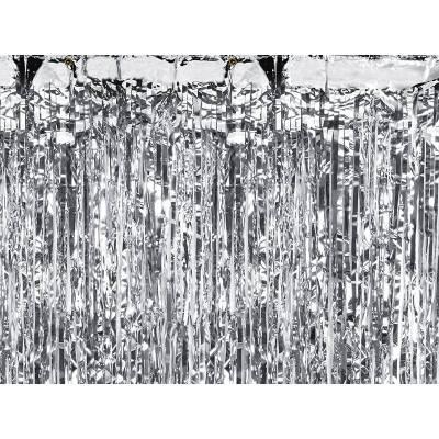 Rideau de fête argent 09 x 25m