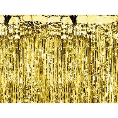 Rideau de fête or 09 x 25m