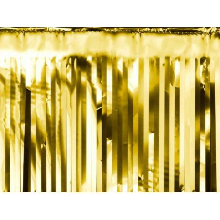 Rideau de fête or 18.5 x 400cm