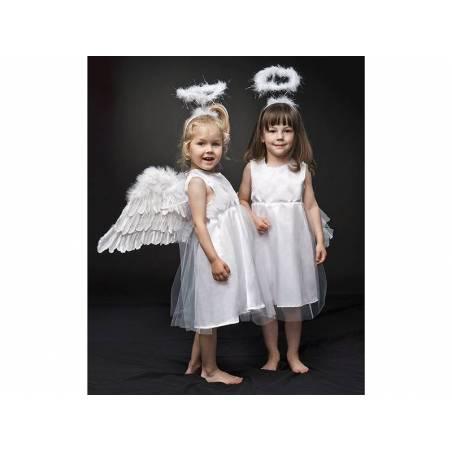 Robe avec tulle ange 6-8 ans