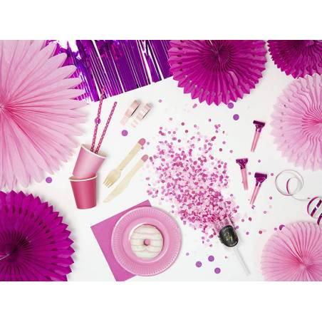 Poids du ballon en feuille rose foncé