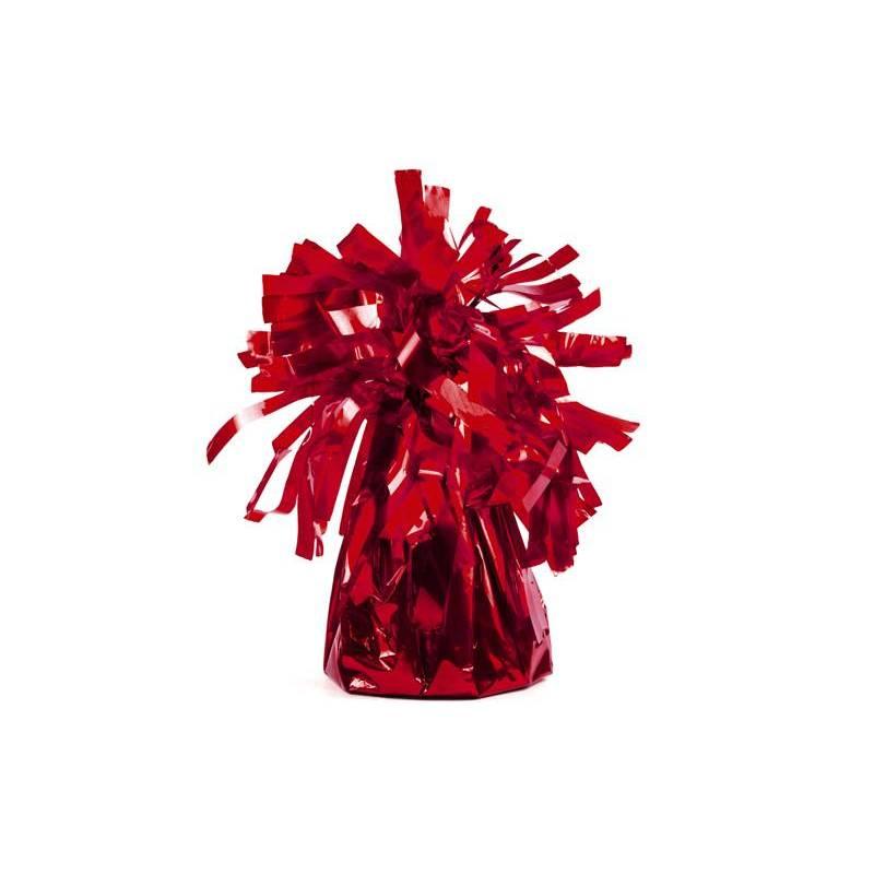 Poids du ballon en aluminium rouge