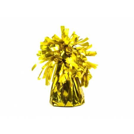 Poids du ballon en feuille or