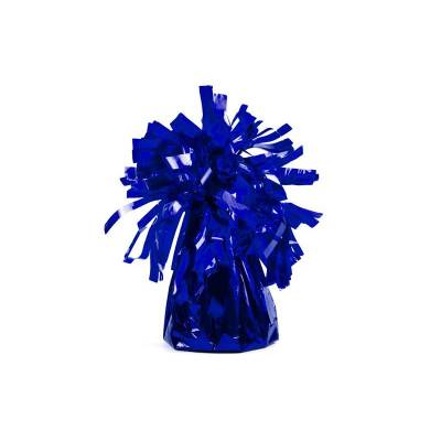 Poids du ballon en feuille bleu royal