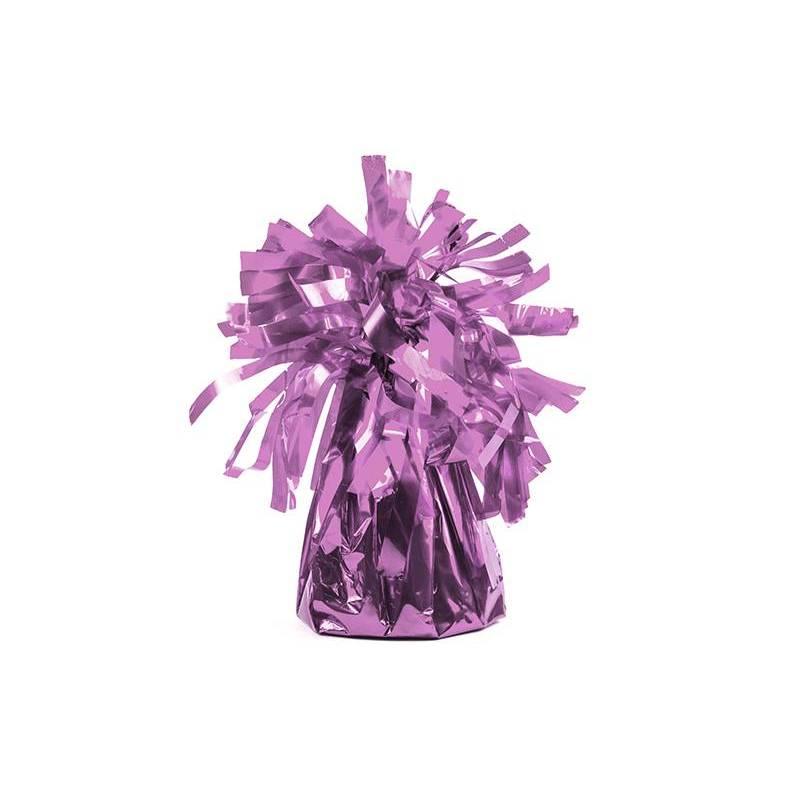 Poids du ballon en feuille rose