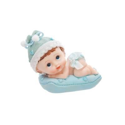 Figurines Garçon avec un oreiller 9cm