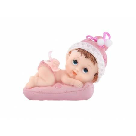 Figurines Fille avec un oreiller 9cm