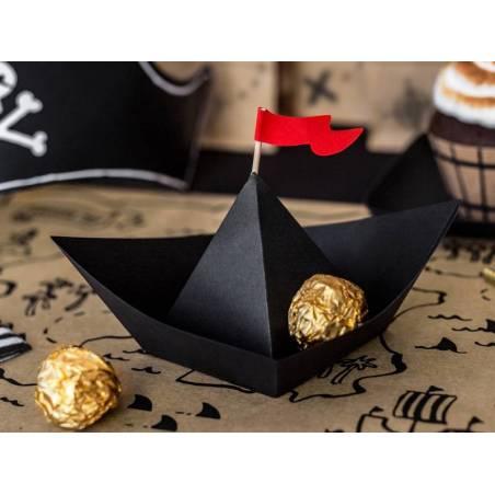 Décorations en papier Pirates Party - Bateaux 19x10x14cm