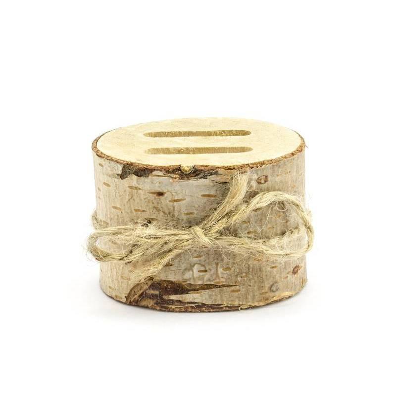Porteur de bague en bois 6cm