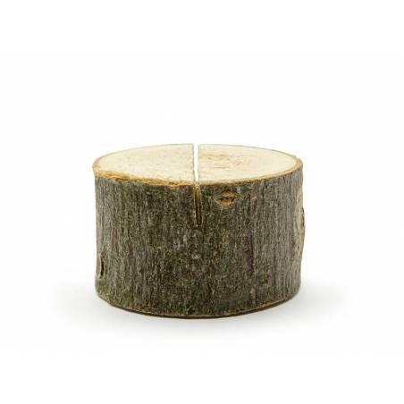 Porte-cartes en bois diamètre 3-4cm