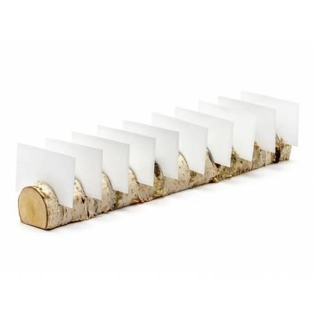 Porte-cartes en bois 5x40cm