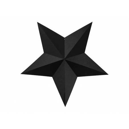 Étoiles de décoration noir