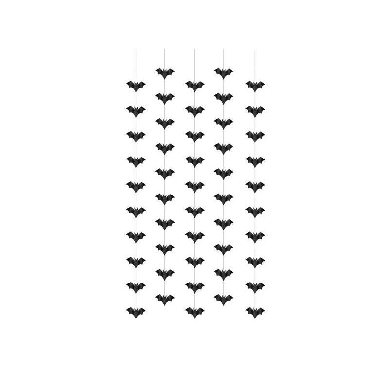 Décoration à suspendre Chauves-souris 1m